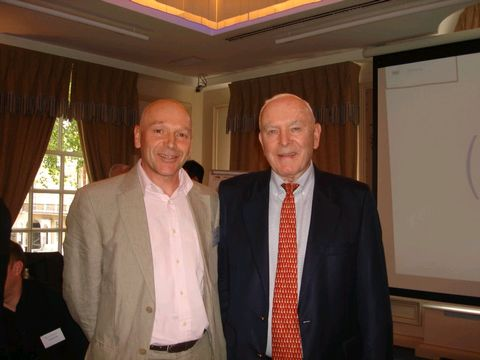 David with Professor Robert Hogan at the Psychometrics Forum, London, 25 Sept 2014